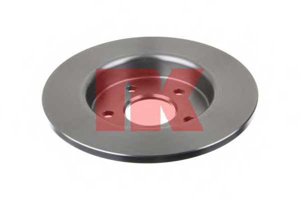 Тормозной диск NK 202558 - изображение 1
