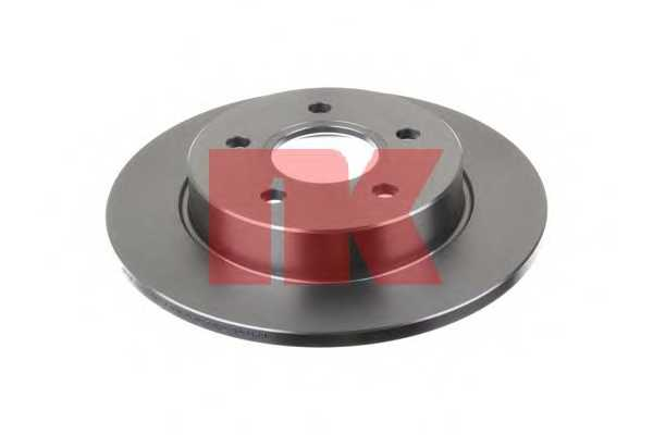 Тормозной диск NK 202558 - изображение
