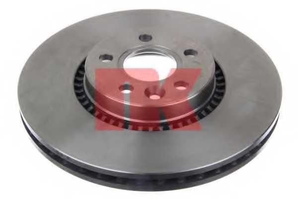 Тормозной диск NK 202570 - изображение