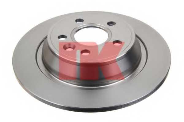 Тормозной диск NK 202571 - изображение