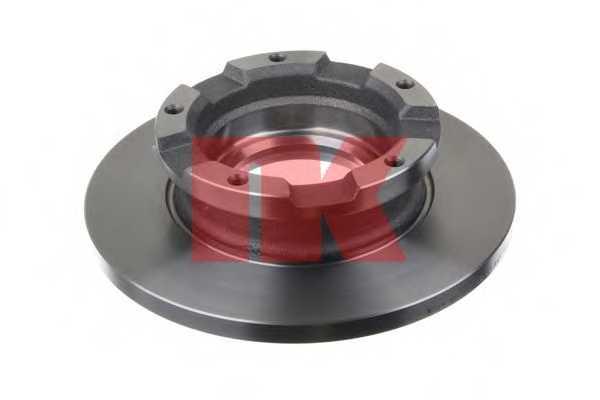 Тормозной диск NK 202579 - изображение 1