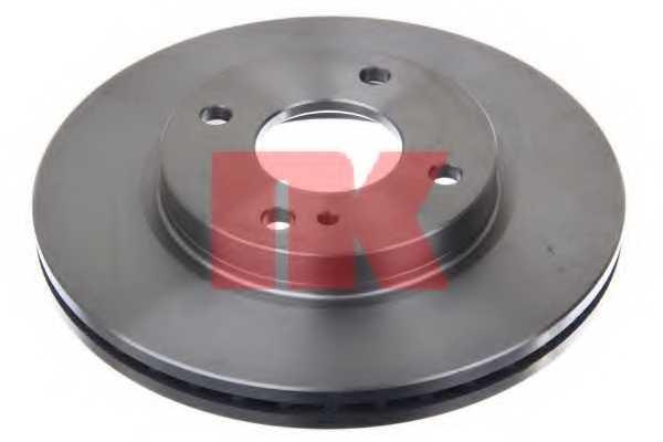 Тормозной диск NK 202580 - изображение 1