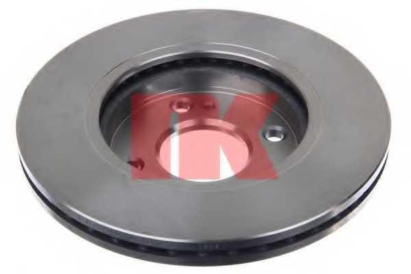 Тормозной диск NK 202580 - изображение