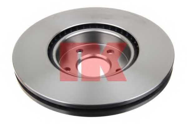 Тормозной диск NK 202581 - изображение 1