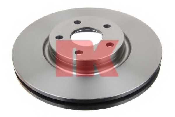 Тормозной диск NK 202581 - изображение