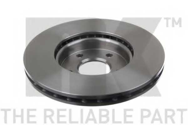 Тормозной диск NK 202582 - изображение 1