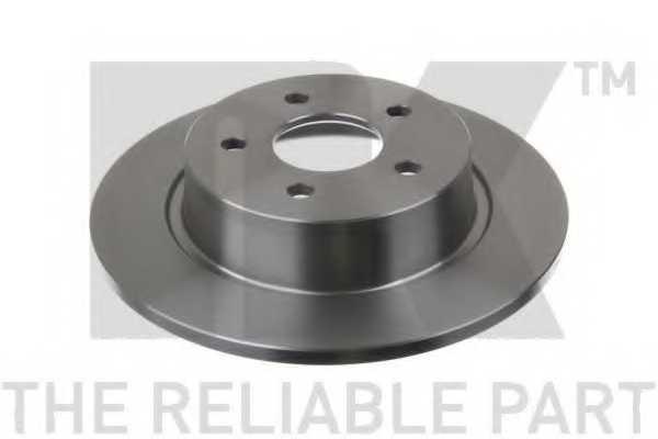 Тормозной диск NK 202583 - изображение 1