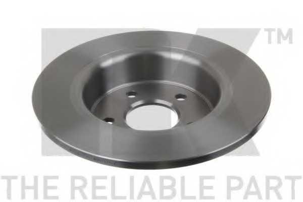 Тормозной диск NK 202583 - изображение