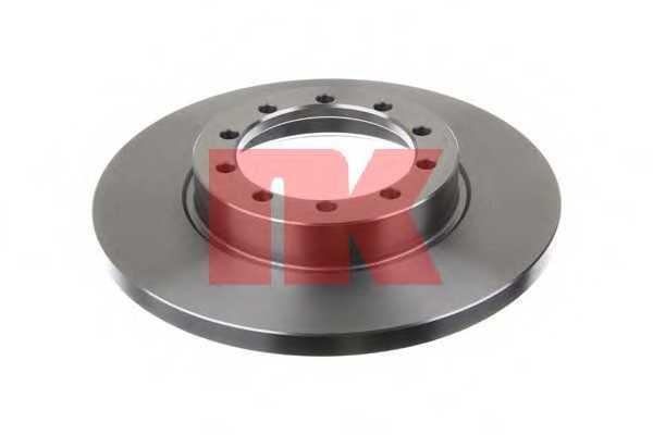 Тормозной диск NK 202586 - изображение