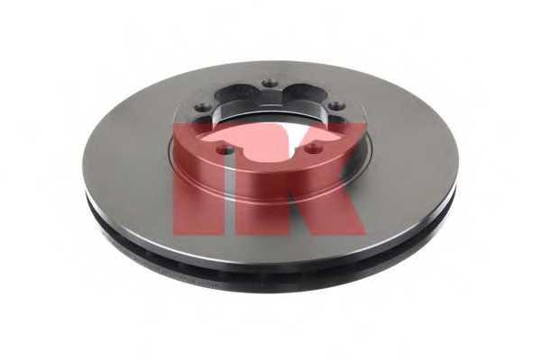 Тормозной диск NK 202587 - изображение 1