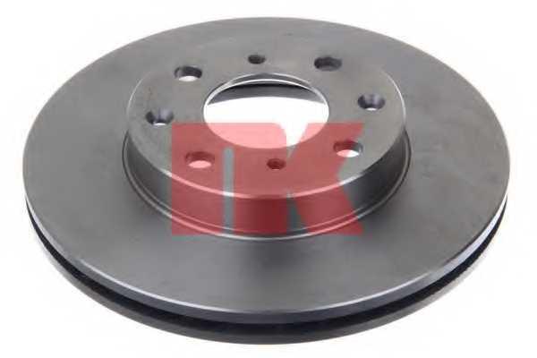 Тормозной диск NK 202615 - изображение 1