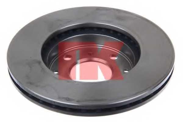 Тормозной диск NK 202615 - изображение