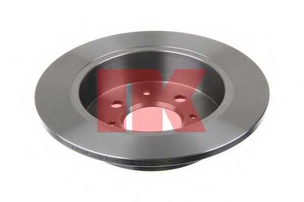 Тормозной диск NK 202621 - изображение 1