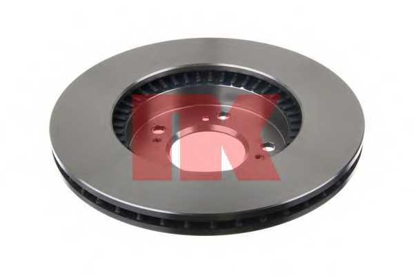 Тормозной диск NK 202622 - изображение