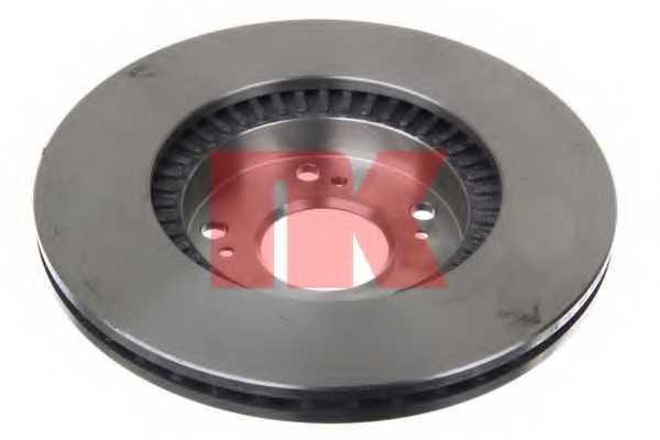 Тормозной диск NK 202626 - изображение 1