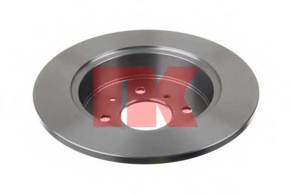 Тормозной диск NK 202633 - изображение 1