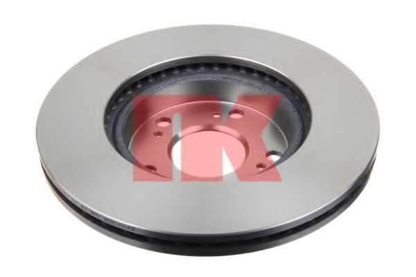 Тормозной диск NK 202636 - изображение 1