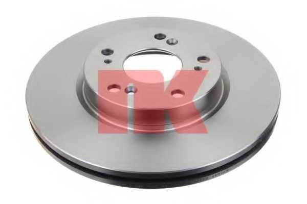 Тормозной диск NK 202636 - изображение