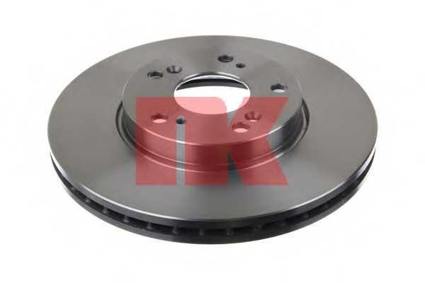 Тормозной диск NK 202637 - изображение 1