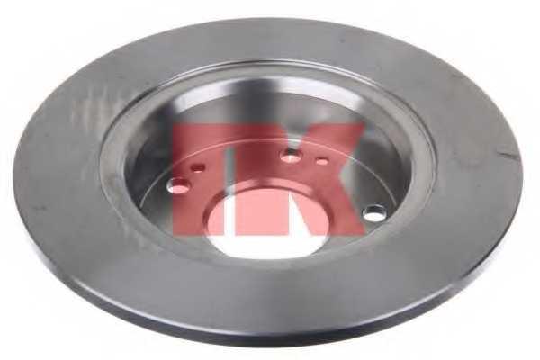 Тормозной диск NK 202638 - изображение 1