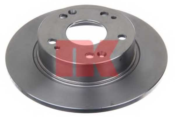 Тормозной диск NK 202638 - изображение