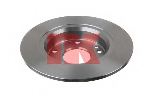 Тормозной диск NK 202641 - изображение 1