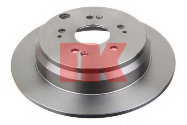 Тормозной диск NK 202642 - изображение 1