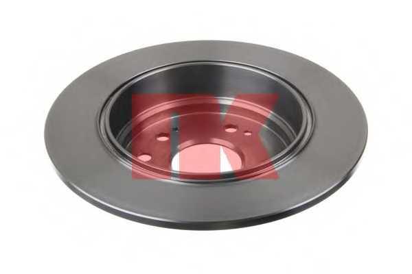 Тормозной диск NK 202644 - изображение 1