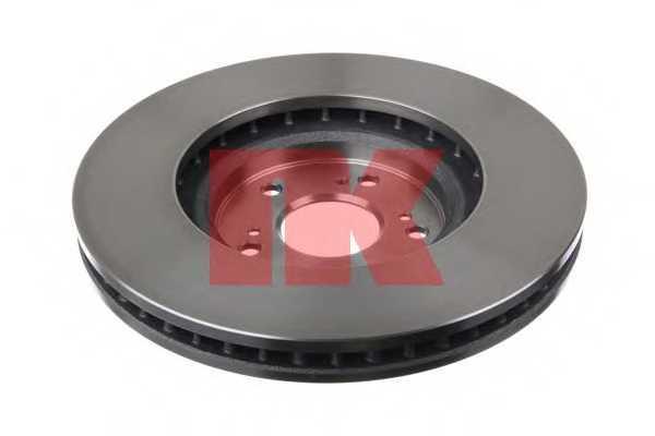 Тормозной диск NK 202651 - изображение
