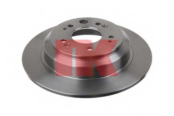 Тормозной диск NK 202652 - изображение