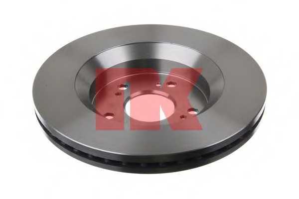 Тормозной диск NK 202653 - изображение