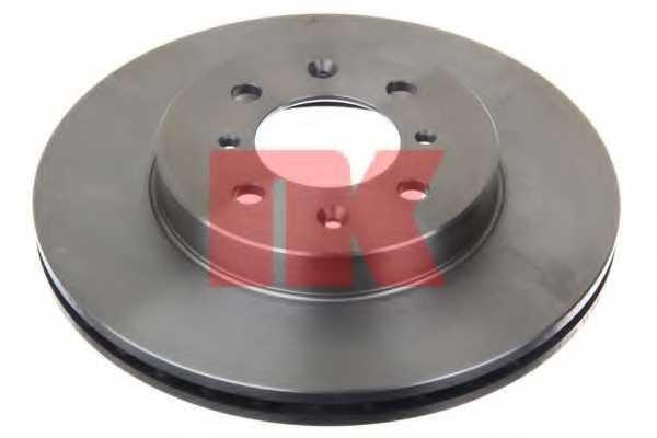 Тормозной диск NK 202656 - изображение