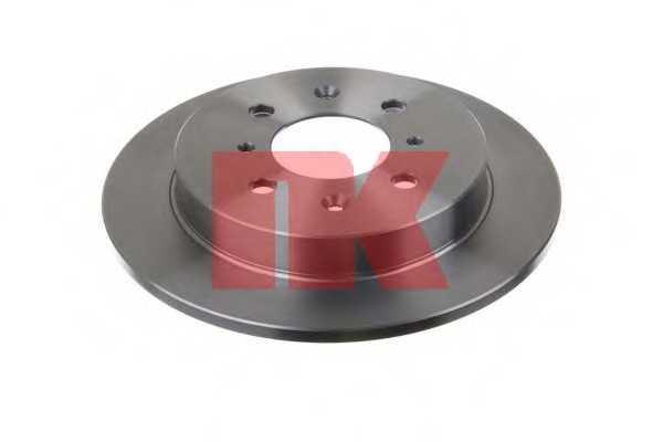 Тормозной диск NK 202657 - изображение 1
