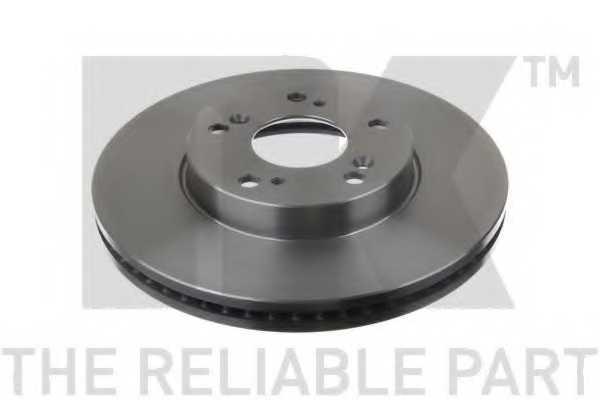 Тормозной диск NK 202661 - изображение 1