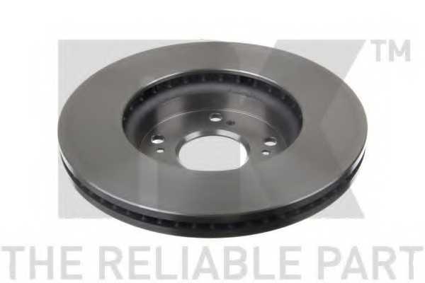 Тормозной диск NK 202661 - изображение