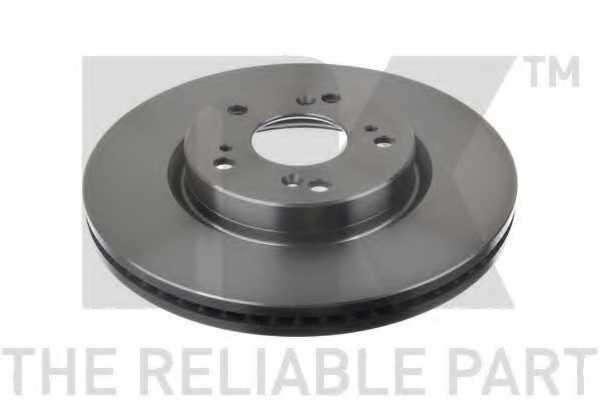 Тормозной диск NK 202662 - изображение 1