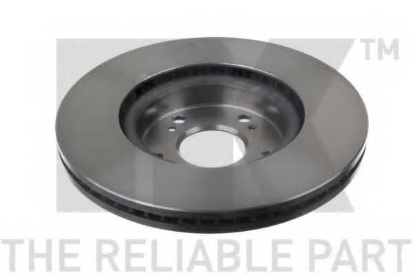 Тормозной диск NK 202662 - изображение