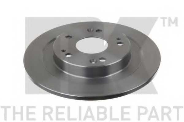 Тормозной диск NK 202663 - изображение 1