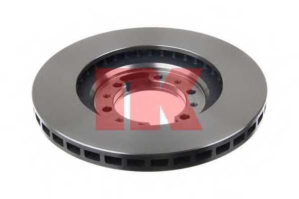 Тормозной диск NK 203016 - изображение 1