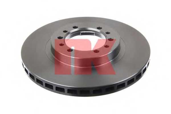Тормозной диск NK 203016 - изображение