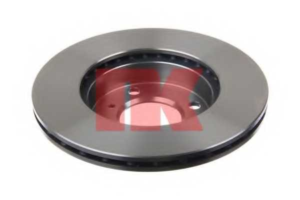 Тормозной диск NK 203021 - изображение