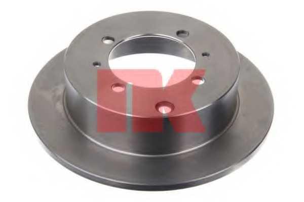 Тормозной диск NK 203024 - изображение