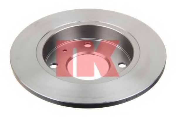 Тормозной диск NK 203036 - изображение