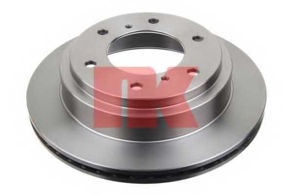 Тормозной диск NK 203041 - изображение 1