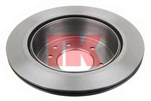 Тормозной диск NK 203056 - изображение