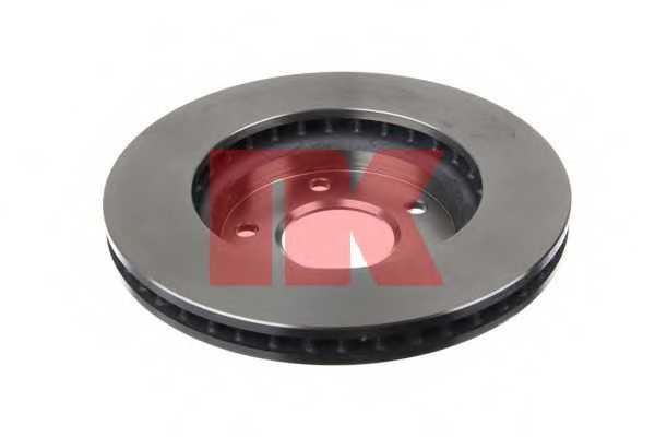 Тормозной диск NK 203057 - изображение