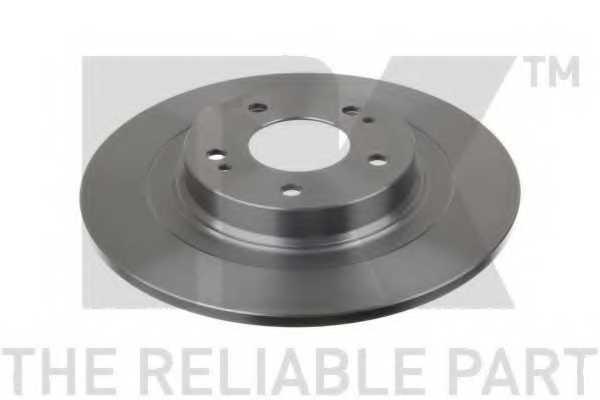 Тормозной диск NK 203085 - изображение
