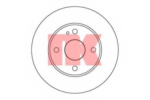 Тормозной диск NK 203239 - изображение