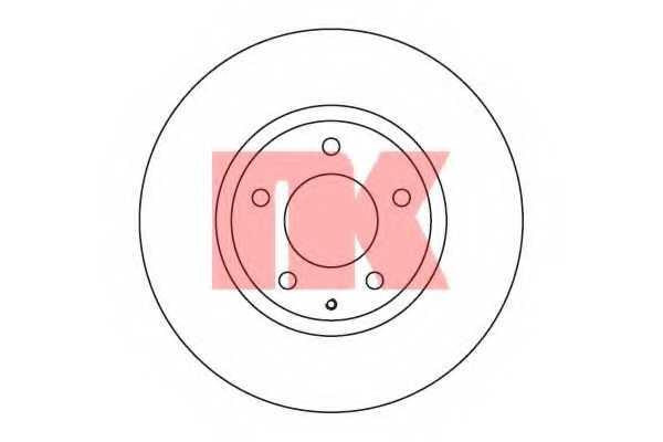 Тормозной диск NK 203247 - изображение