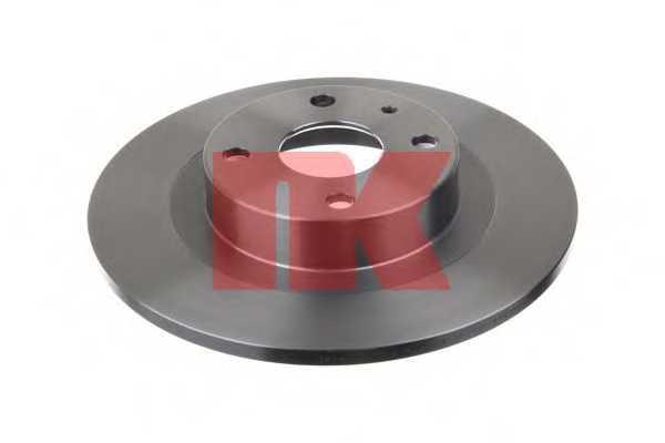Тормозной диск NK 203248 - изображение